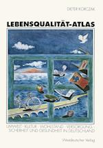 Lebensqualitat-Atlas af Dieter Korczak