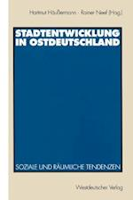 Stadtentwicklung in Ostdeutschland af Hartmut Haussermann