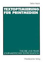 Textoptimierung Fur Printmedien af Stefan Heijnk