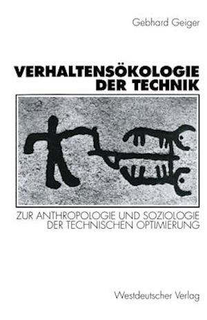 Bog, paperback Verhaltensokologie Der Technik af Gebhard Geiger, Gebhard Geiger