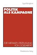 Politik ALS Kampagne af Sigrid Baringhorst