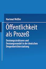 Offentlichkeit ALS Proze af Hartmut Wessler