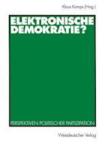 Elektronische Demokratie? af Klaus Kamps