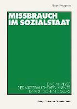 Missbrauch Im Sozialstaat