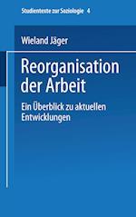 Reorganisation Der Arbeit