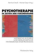 Psychotherapie in Zeiten Der Veränderung