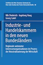 Industrie- Und Handelskammern in Den Neuen Bundeslandern af Nils Diederich, Diederich Niels, Ingeborg Haag