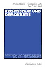 Rechtsstaat und Demokratie af Michael Becker