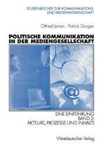 Politische Kommunikation in der Mediengesellschaft af Otfried Jarren