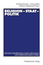 Religion -- Staat -- Politik