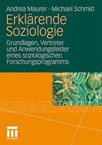Erklarende Soziologie af Andrea Maurer, Michael Schmid