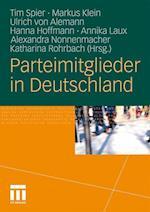 Parteimitglieder in Deutschland