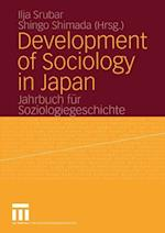 Development of Sociology in Japan af Ilja Srubar