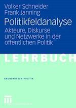 Politikfeldanalyse af Frank Janning, Volker Schneider