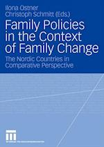 Family Policies in the Context of Family Change af Ilona Ostner