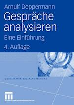 Gesprache Analysieren af Arnulf Deppermann