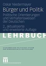 Burger Und Politik af Oskar Niedermayer