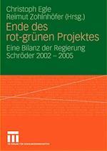 Ende Des Rot-Grünen Projekts