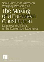 The Making of a European Constitution af Sonja Puntscher Riekmann, Wolfgang Wessels