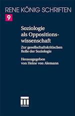 Soziologie ALS Oppositionswissenschaft af Oliver K. Nig, Oliver Konig