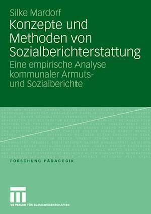 Konzepte Und Methoden Von Sozialberichterstattung