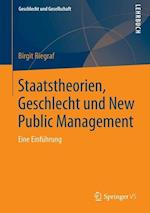 Staatstheorien, Geschlecht Und New Public Management af Birgit Riegraf