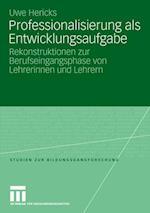 Professionalisierung ALS Entwicklungsaufgabe af Uwe Hericks