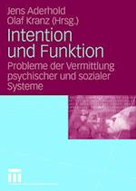 Intention Und Funktion
