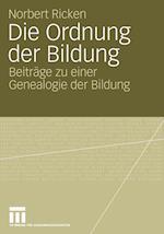 Die Ordnung Der Bildung af Norbert Ricken
