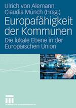 Europafähigkeit Der Kommunen