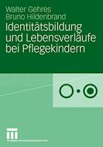 Identitatsbildung Und Lebensverlaufe Bei Pflegekindern af Prof Dr Walter Gehres Htw Saar, Bruno Hildenbrand, Walter Gehres