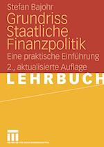 Grundriss Staatliche Finanzpolitik af Stefan Bajohr