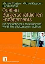 Quellen Burgerschaftlichen Engagements af Michael Corsten, Hartmut Rosa, Michael Kauppert