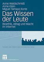 Das Wissen Der Leute af Miguel Tamayo Korte, Anne Waldschmidt, Anne Klein