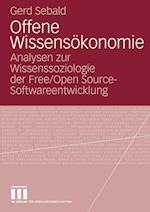 Offene Wissensokonomie af Gerd Sebald