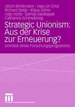 Strategic Unionism