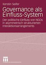 Governance ALS Einfluss-System af Kerstin Seifer