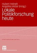 Lokale Politikforschung Heute