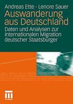 Auswanderung Aus Deutschland af Lenore Sauer, Andreas Ette