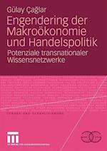 Engendering Der Makrookonomie Und Handelspolitik af Gulay Caglar, G. Lay Caglar