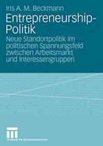 Entrepreneurship-Politik af Iris A. M. Beckmann