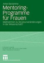 Mentoring-Programme Fur Frauen af Anke Barzantny