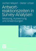 Antwortreaktionszeiten in Survey-Analysen