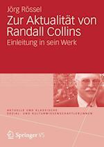 Zur Aktualitat Von Randall Collins af Jorg Rossel, J. Rg R. Ssel