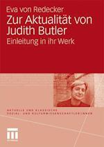 Zur Aktualitat Von Judith Butler af Eva Von Redecker, Eva Von Redecker