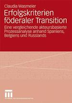 Erfolgskriterien Foderaler Transition af Claudia Wasmeier