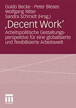 , Decent Work'