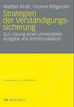 Strategien Der Verstandigungssicherung af Walther Kindt, Yvonne Rittgeroth