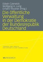 Die Offentliche Verwaltung in Der Demokratie Der Bundesrepublik Deutschland