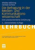 Die Befragung in Der Medien- Und Kommunikationswissenschaft